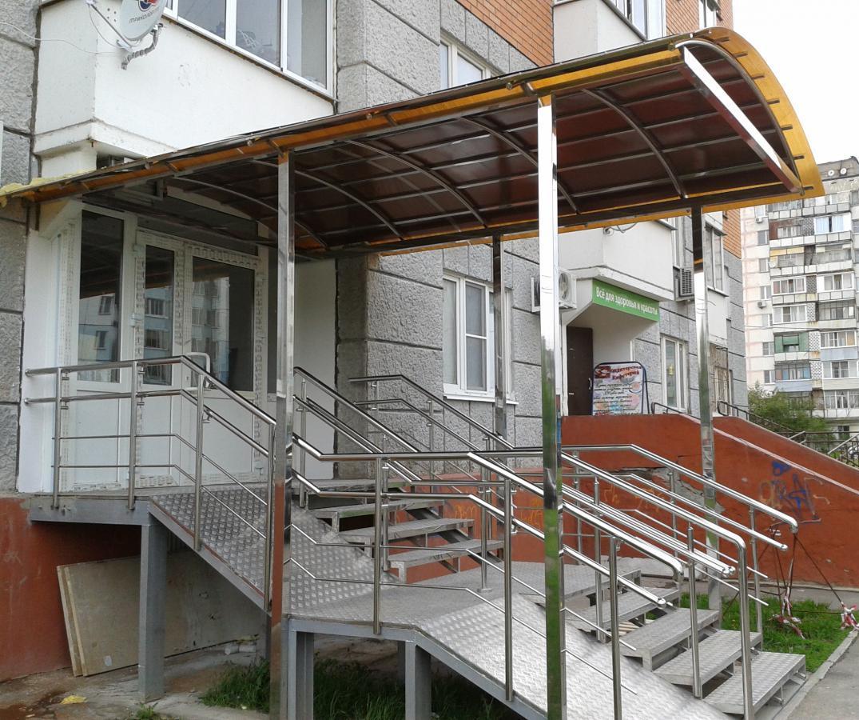 Отдельный вход в квартиру (жилое помещение) без перевода в нежилое 86